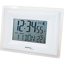 Technoline WS 8008 Digital wall clock Rectangle White wall clock - wall clocks (AA Mignon LR06, White, 236 mm, 85 mm, 176 mm)