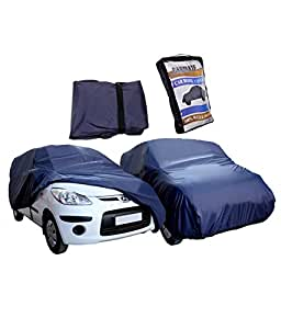 Rosario - Waterproof Car Body Cover for Hyundai Xcent -Carmate Parachute Blue