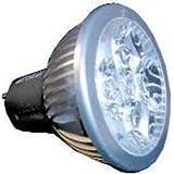 50 x 60 mm scharenberg LED-foco Berger schar 110-245VAC 5 vatios GU 36070 + has.,