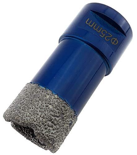 PRODIAMANT Premium Diamant-Bohrkrone Fliese/Feinsteinzeug 25 mm x M14 PDX955.880 25mm passend für Winkelschleifer