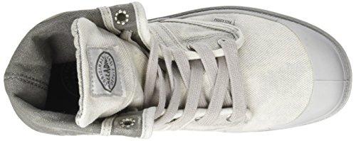 Palladium Damen US Baggy W F Hohe Sneaker Grau (Vapor/ Metal)