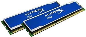 Kingston KHX1333C9D3B1K2/8G Arbeitsspeicher 8GB (1333 MHz, 240-polig) DDR3-RAM Kit blau