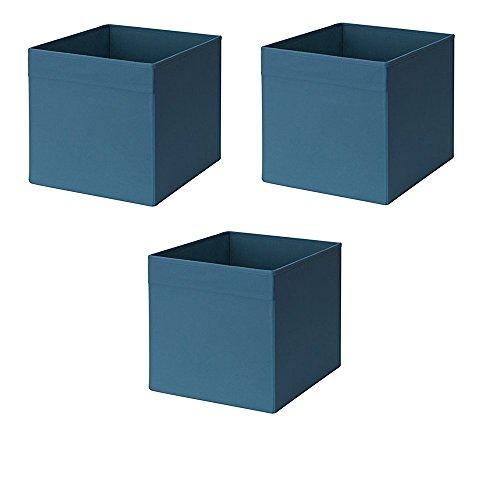 Ikea Drona Box dunkelblau (3 Stück)