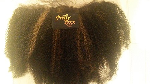 Pretty Loxx indiens Dentelle frontale Afro Curl