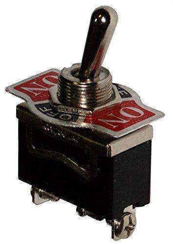 Aerzetix - Unterbrecher, Schalter Switch Kippschalter SP3T ON-OFF-ON 10A/250V 3 Positionen