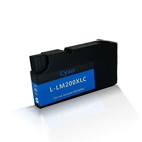 kompatible Tintenpatrone für Lexmark OfficeEdge Office Edge Pro 4000 Pro 4000c Pro 4000 c Series Pro 5500 200/210 200XL 210XL 14L0198 14L0175E Cyan Zyan - Tinte Lexmark Kit