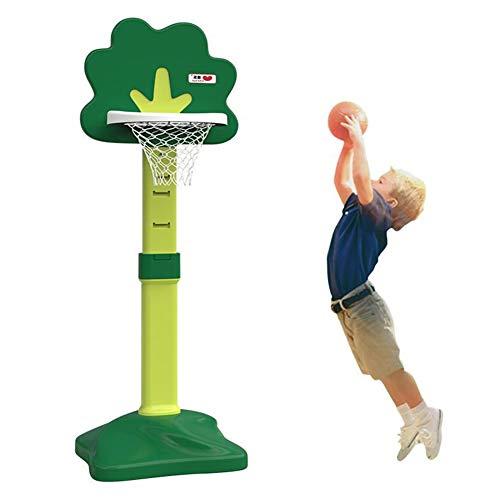 BXWQPP Basketballkorb mit Ständer Mobil Basketballständer Kinder im Outdoor und Indoor Basketballanlage Korbanlage Stabile und Verstellbare Höhe