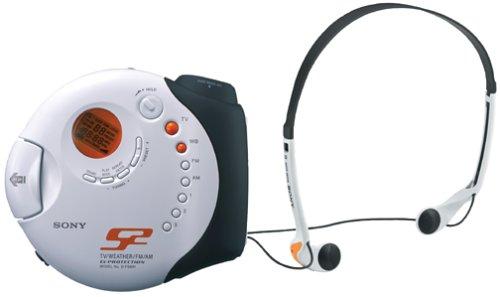 Sony Fits D-FS601 S2 Sports Walkman Portable CD Player Weather/AM/FM Radio - Grade A