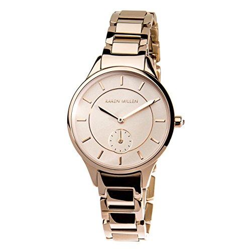 Karen Millen, orologio da donna in oro rosa
