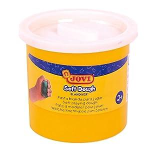 Jovi - Soft Dough Blandiver, Estuche de 5 Botes, 110 g, Color Blanco (45001)