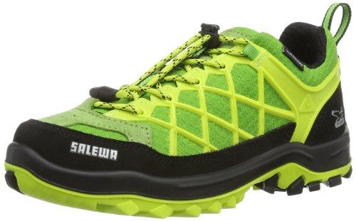 Salewa Jr Wildfire Waterproof, Randonnée Hautes Mixte Enfant Vert (Citro 5160)