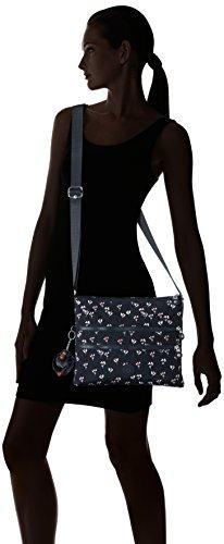 Kipling  Alvar, sac bandoulière femme Multicolore (Small Flower)