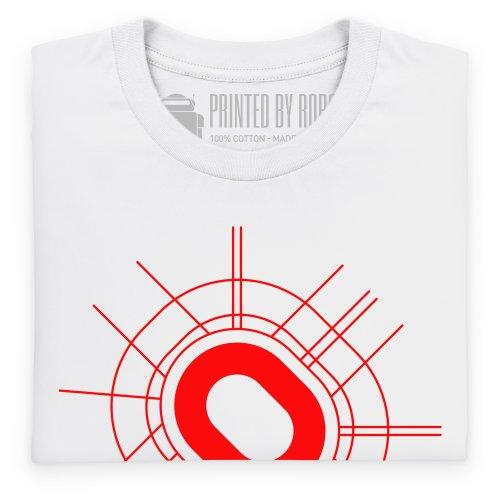 Luzhniki Stadium T-Shirt, Herren Wei