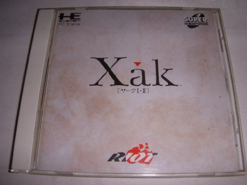 xak-i-ii-japan-import-by-nippon-telenet