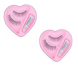 NERR 2 Pairs Black Sparse False Eyelashes Eye Artificial / Eyelash