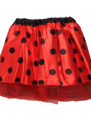 Imagen de disfraz infantil  falda de mariquita  tutu  ladybug  cintura con goma elástica  edad + 3 años