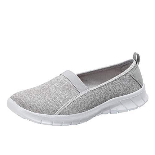Schuhe, Resplend Frauen Turnschuhe Mode Outdoor Segeltuchschuhe weiche Sohle Slip-on Lässige Sportschuhe Lazy Atmungsaktive Schuhe