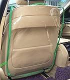 Dbtxwd Car Seat Protector Cover, Auto Backseat Per Bambini Neonati Kick Mat Protegge Da Fango Sporco, 2 Pack,Green