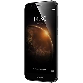 "Huawei G8 - Smartphone libre de 5.5"" (Qualcomm S616 Octa Core a 1.5 GHz, 3 GB de RAM, 3 GB de memoria interna, Android), color metal"