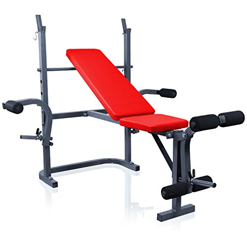 Miganeo® Bankdrückmaschine für Schulter, Brust, Trizeps, Unterarm, Bein und Rückenmuskulatur 6654