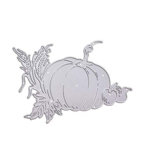 Halloween Kürbis Schneiden Schablonen, Cutting Dies, Prägeschablonen Stanzformen Schablonen Papier Karten Sammelalbum Dekor
