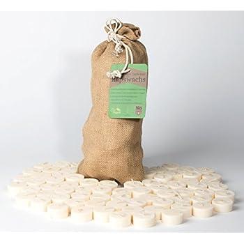 300 Öko Teelichter ohne Alu Hülle Rohlinge Sparpack recycelte Biomasse Natur