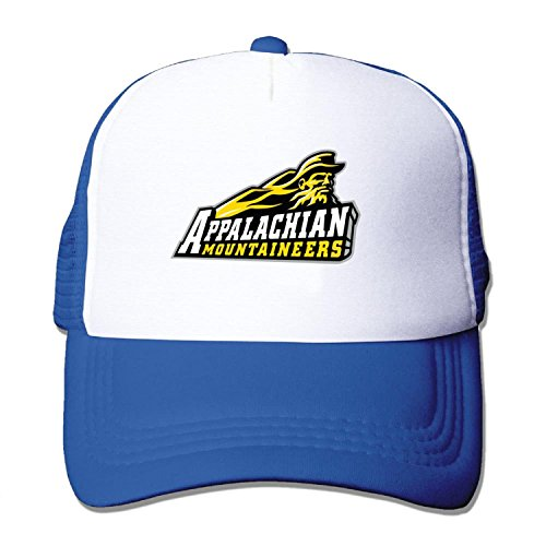 Adult ASU Appalachian State University Baseball Hat Mesh Back Trucker Adjustable (5 colours)