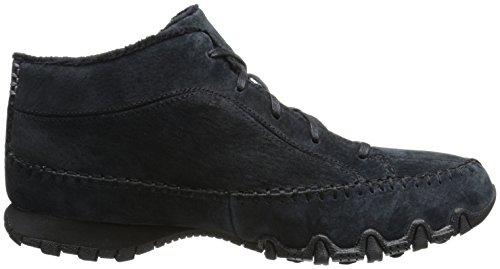 Skechers BikersTotem Pole, Sneakers basses femme Noir (Blk Noir)