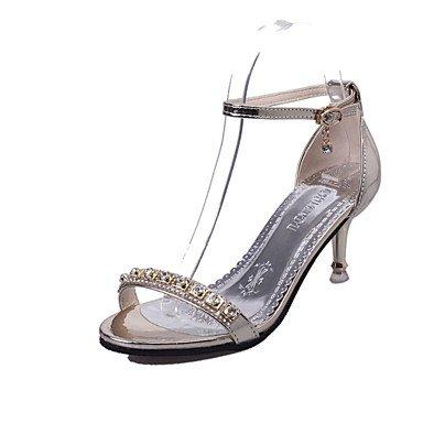 LFNLYX Donna mocassini & Slip-Ons Comfort estivo Tulle Casual tacco piatto Bowknot viola a piedi Beige Gold