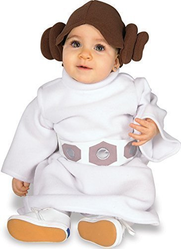 Kleinkind Baby Mädchen Jungen Star Wars Yoda Darth Vader Prinzessin Leia Halloween Kostüm Outfit Verkleidung 12-24 monate 1-2 jahre - Prinzessin Leia, 12-24 Months, 12-24 (Yoda Halloween Kostüme)
