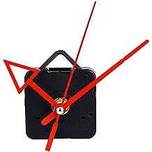 Mudder Movimiento de Reloj con Flecha Roja Triángulo, 3/ 25 Pulgadas Máximo de Espesor de Esfera, 1/ 2 Pulgadas de Longitud de Eje Total