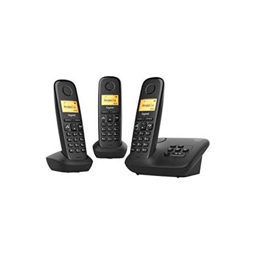 Gigaset A270A Trio Festnetz-Telefon schnurlos Anrufbeantworter DECT