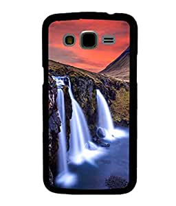 printtech Nature Waterfall View Back Case Cover for Samsung Galaxy J7::Samsung Galaxy J7 J700F