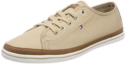 Tommy Hilfiger Damen Iconic Kesha Sneaker, Braun (Desert Sand 932), 37 EU