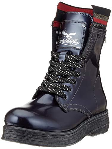Replay Damen LACY Biker Boots, Blau (Metallic Blue 2618), 39 EU