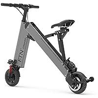 Bicicleta eléctrica Coche eléctrico portátil Plegable Vespa eléctrica batería de Litio de múltiples Funciones Mini Coche
