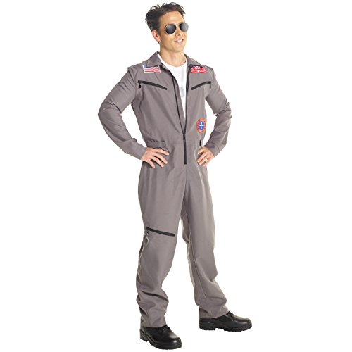 Militärprofi Pilot Fliegeranzug Kostüm Karneval Fluganzug Kostüm für - Kostüme Karneval Männer