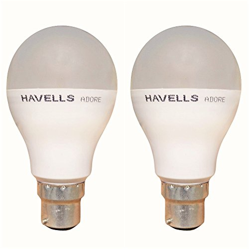 Havells Adore 10-Watt LED Bulb (White and Pack of 2)