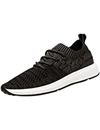 Zapatillas Hombre ZARLLE Deportivos Running para Zapatos Gimnasio Correr Sneakers Aire Libre Deporte Transpirables Casuales de