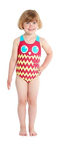 Speedo Babies Patch World Essential Applique 1-Piece Swimsuit - Patchwork Mag/Bali, Größe 104