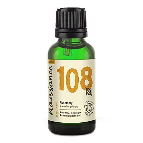 Naissance Olio di Rosmarino Biologico - Olio Essenziale Puro al 100% - 30ml