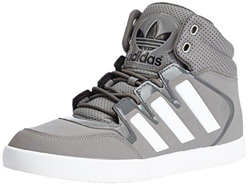 Adidas Dropstep Grey Mens Trainers, Grigio, 7