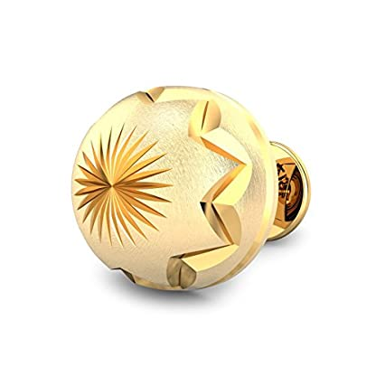 Candere By Kalyan Jewellers 22k (916) Yellow Gold Sarah Stud Earrings for Women
