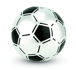 Uninflated Plastic Football 22.5cm, colour varies, one supplied