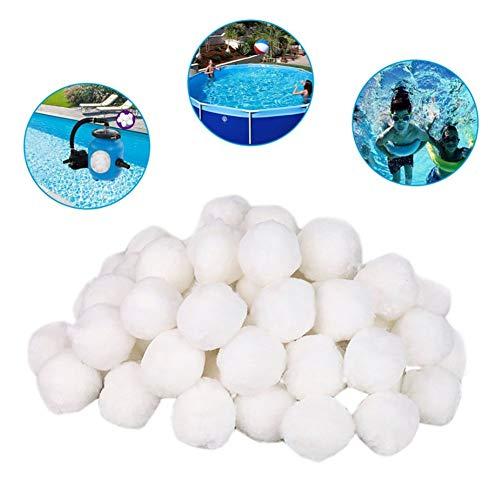 lennonsi 700g Filterkugeln Feinfilter Fibre Ball Filter, Pool Filterkessel Sandfilter