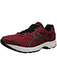 Equal Gel 8 Running Shoes para hombre, Chili Pepper / Black / Silver, 7 M US