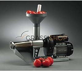 Ardes AR7400 Passapomodoro Professionale in Alluminio Pressofuso Verniciato, 150 kg/min