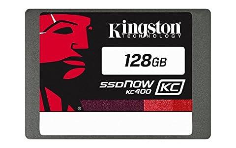 Kingston 128go - Kingston KC400 SSDNow 128GB SATA 3 2.5