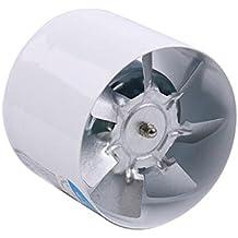 IPOTCH 4inchs Ventilador de Extractor de Aire en Línea Ligero y Silencioso de Energía Baja para