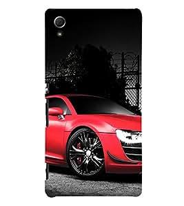 EPICCASE Super car Mobile Back Case Cover For Sony Xperia Z4 Mini / Z4 Compact (Designer Case)